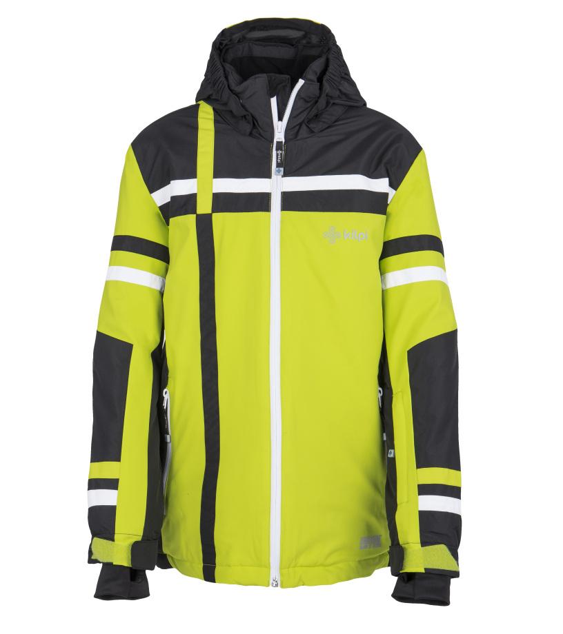 KILPI Chlapecká lyžařská bunda TITAN-JB FJ0002KILGN Zelená 158