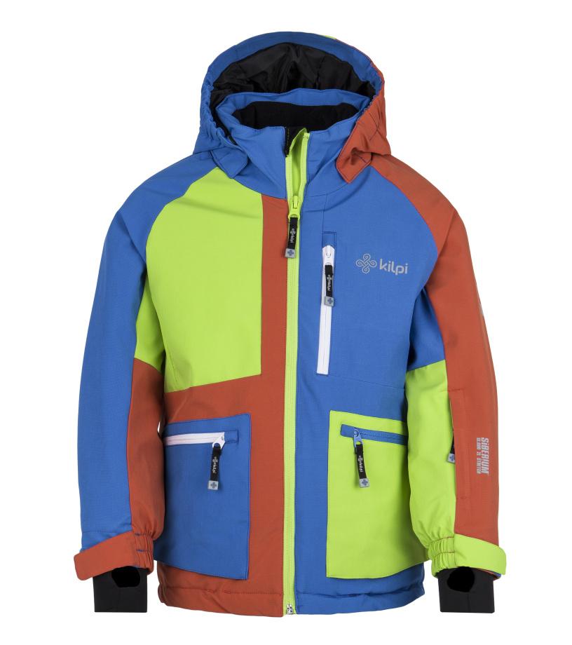 KILPI Chlapecká lyžařská bunda JACKYL-JB FJ0004KIBLU Modrá 110