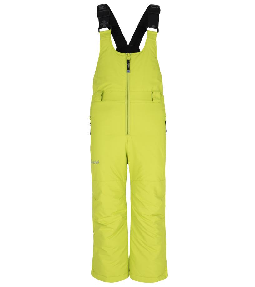 KILPI Dětské lyžařské kalhoty DARYL-JB FJ0012KILGN Zelená 134