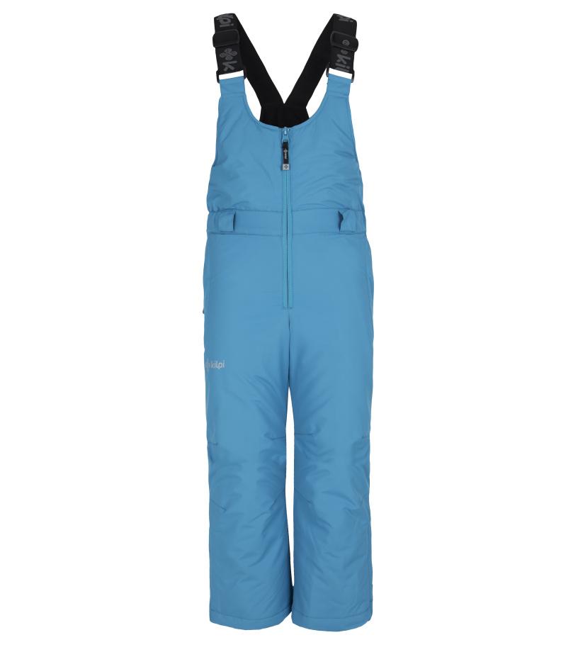 KILPI Dětské lyžařské kalhoty FUEBO-JG FJ0024KILBL Bílo/Modrá 134