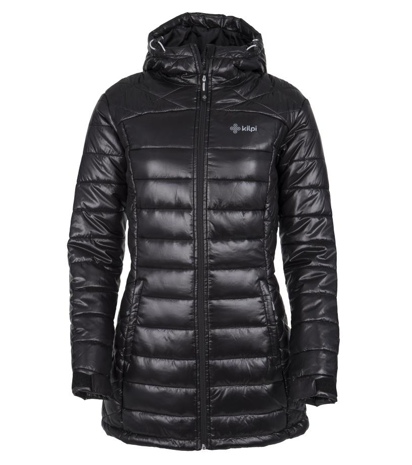 KILPI Dámský zimní kabát SYDNEY-W FL0042KIBLK Černá