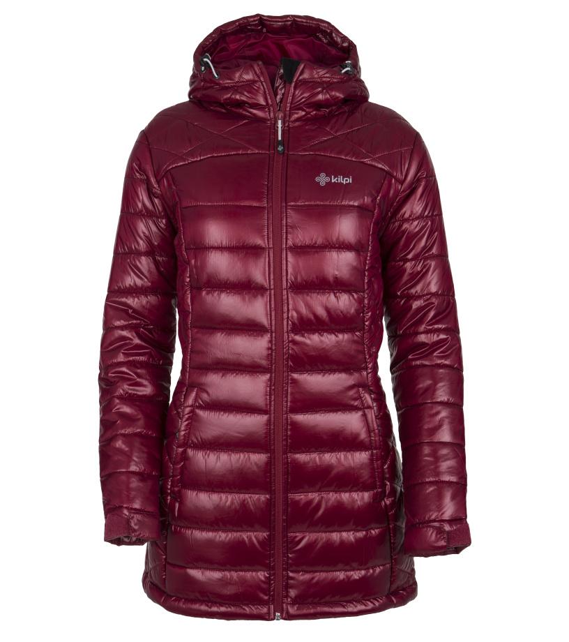 KILPI Dámský zimní kabát SYDNEY-W FL0042KIDRD Červená 40
