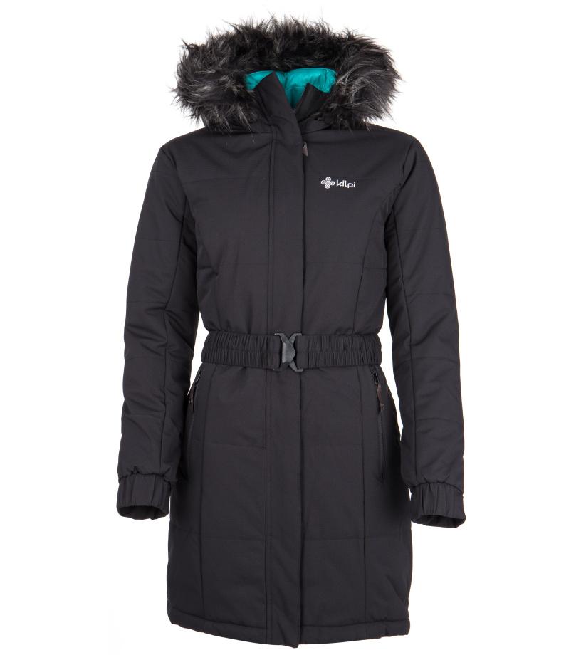 KILPI Dámský zimní kabát KETO-W FL0055KIBLK Černá 38