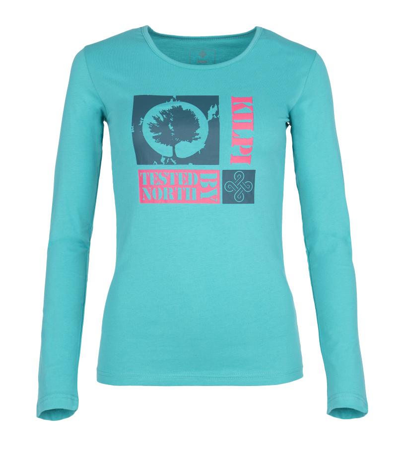 KILPI Dámské triko s dlouhým rukávem TREE-W FL0067KITRQ Tyrkysová 44