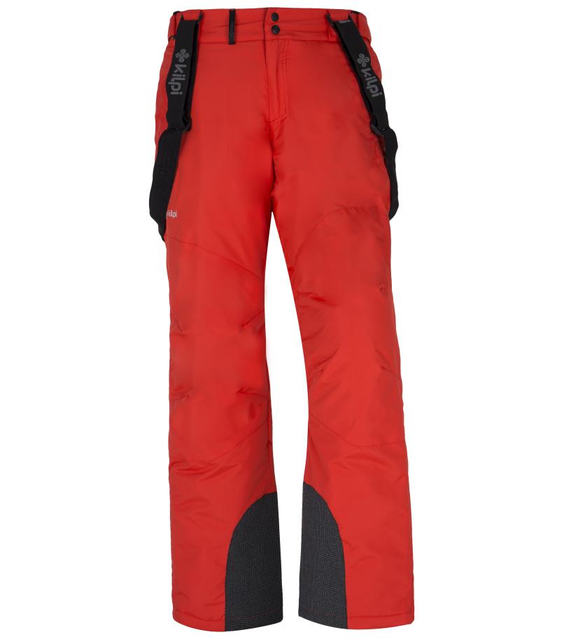 KILPI Pánské lyžařské kalhoty MIMAS-M FM0013KIRED Červená XS