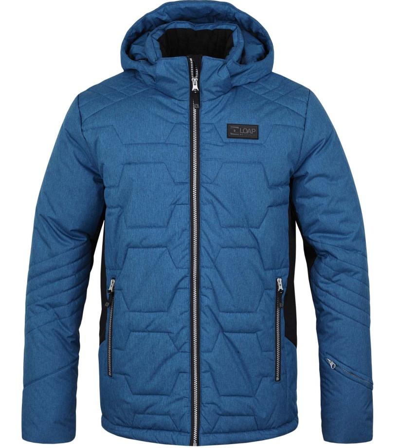 LOAP FROLE Pánská lyžařská bunda OLM1620M85M modrá S