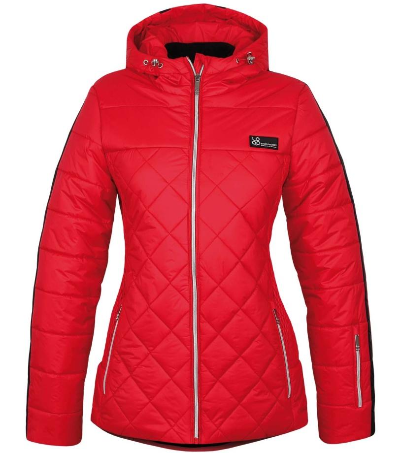LOAP FOLKA Dámská lyžařská bunda OLW1619G28G červená S