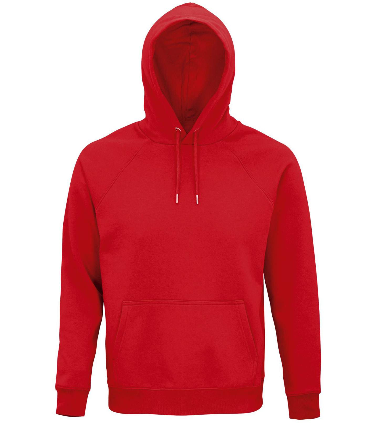 SOLS Uni mikina STELLAR 03568145 Red XL