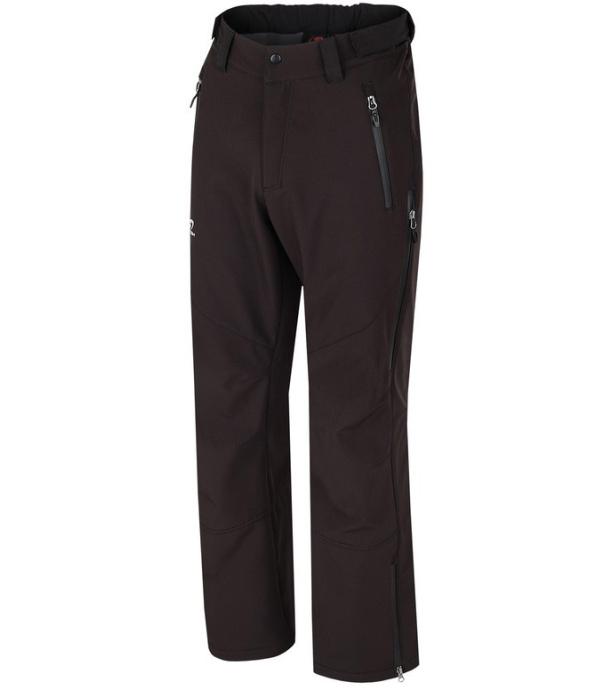 HANNAH Crater Pánské softshellové kalhoty 216HH0007SP01 anthracite