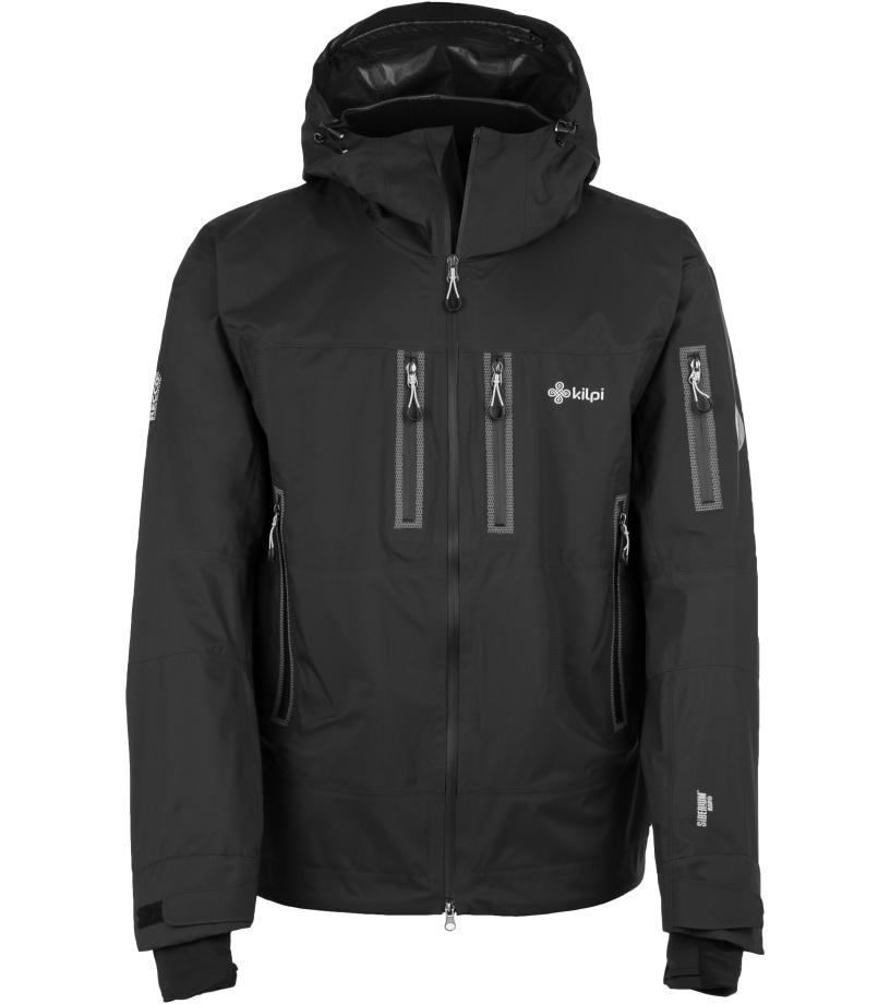 KILPI Pánská zimní bunda HASTAR DM0505KIBLK Černá