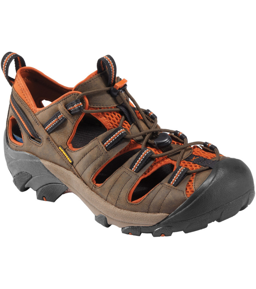 KEEN Arroyo II M Pánské sandály C120300040407 black olive/bombay brown 41
