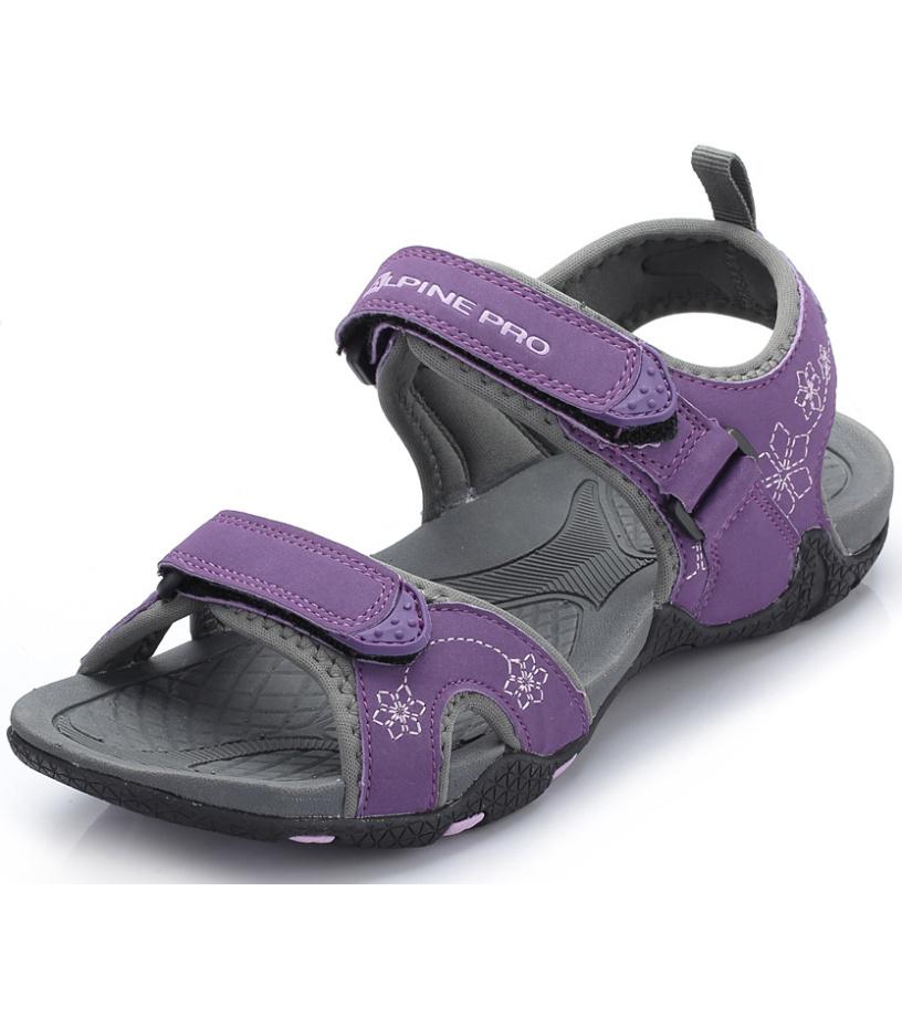 ALPINE PRO SHIPLEY Dámská obuv letní LBTG107825 imperial fialová
