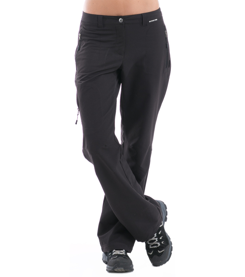 ALPINE PRO MURIA Dámské softshellové kalhoty LPAG027990 černá 38
