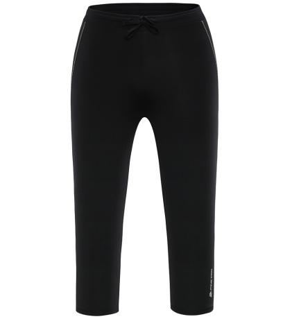 ALPINE PRO ENZO Pánské 3/4 kalhoty MPAG101990PA černá