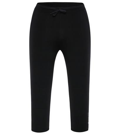 ALPINE PRO ENZO Pánské 3/4 kalhoty MPAG101990 černá