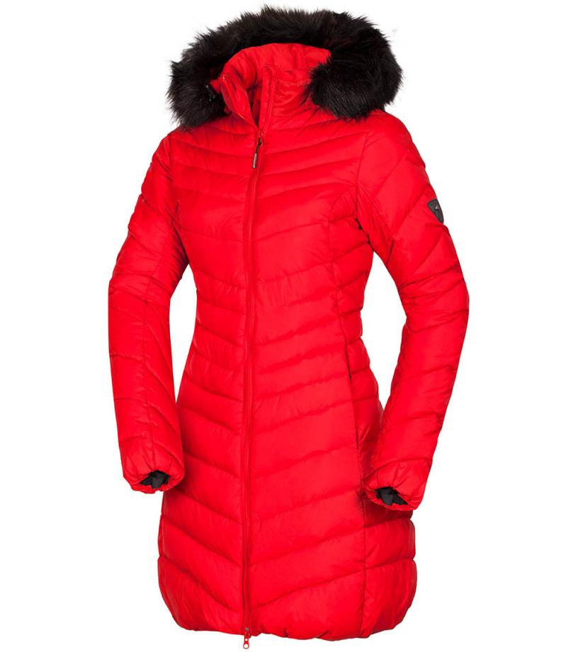 NORTHFINDER VONILA Dámský kabát BU-4846SP360 červená S