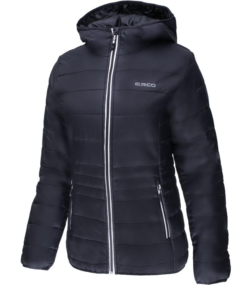 ERCO ILJA Dámská zimní bunda 17W2040BLK černá XXXL