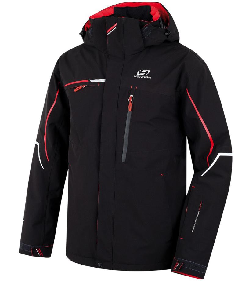 HANNAH MERLIN Pánská lyžařská bunda 217HH0003HJ01 anthracite XL