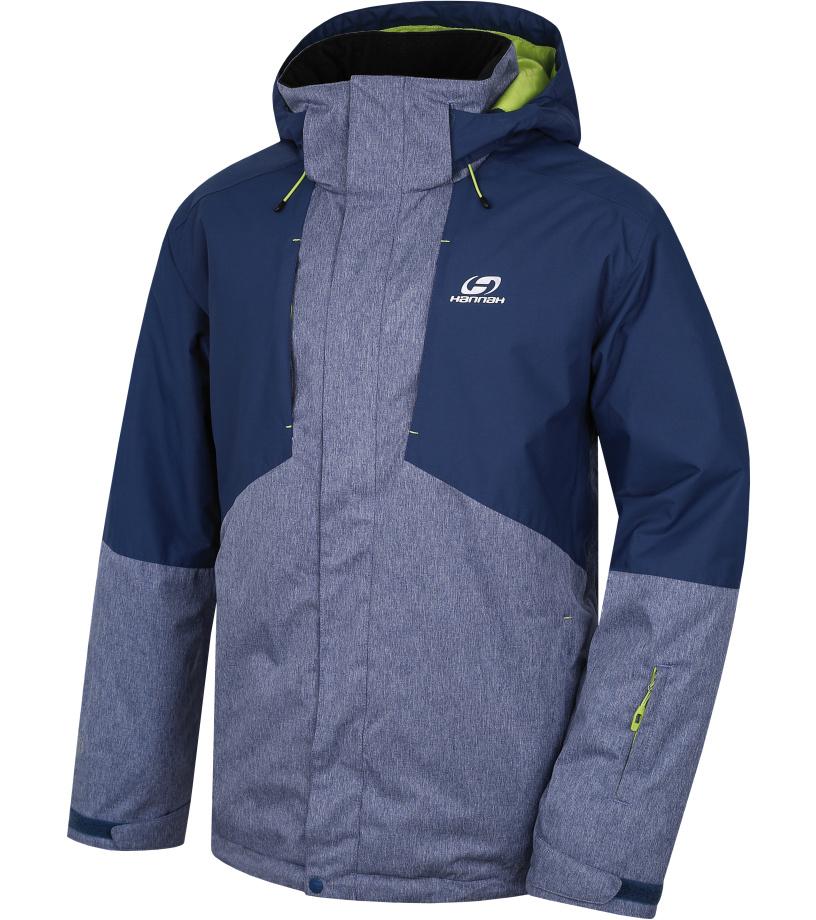 HANNAH Yard Pánská lyžařská bunda 217HH0006HJ02 Dark denim/indigo mel XXL