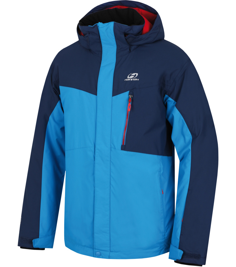 HANNAH Juval Pánská lyžařská bunda 217HH0007HJ03 Methyl blue/dark denim XXL