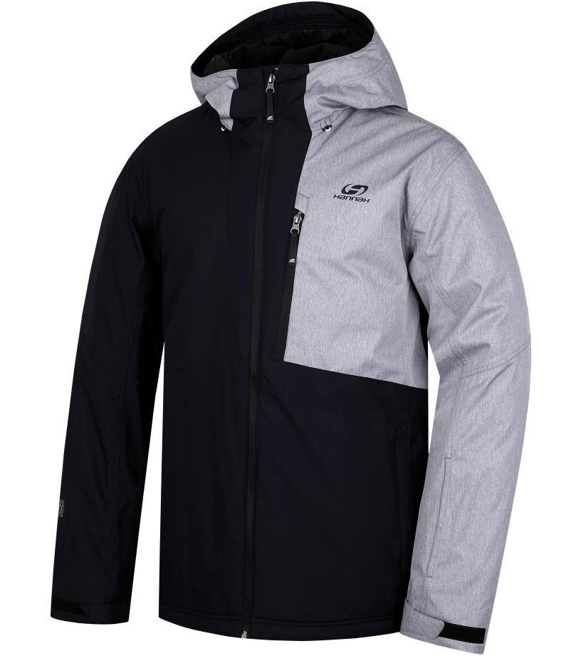 HANNAH Repo II Pánská lyžařská bunda 217HH0008HJ01 Anthracite/frost mel