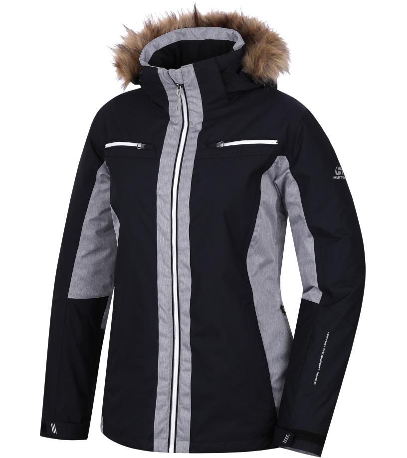 HANNAH Jill Dámská lyžařská bunda 217HH0019HJ01 Anthracite/frost mel