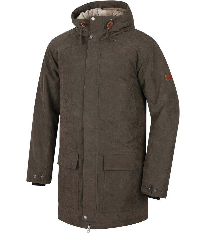 HANNAH Jesper Pánský kabát 217HH0029HJ01 Ivy green L