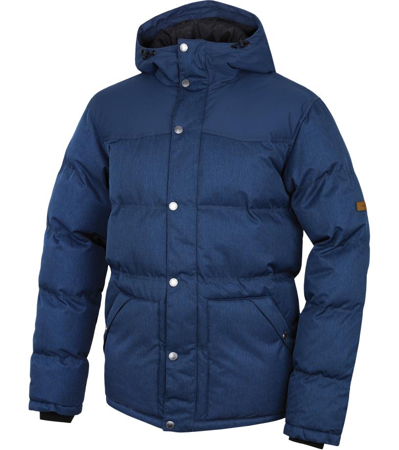 HANNAH Slasher II Pánská zimní bunda 217HH0031HJ03 Dark denim mel/majolica blue XXL