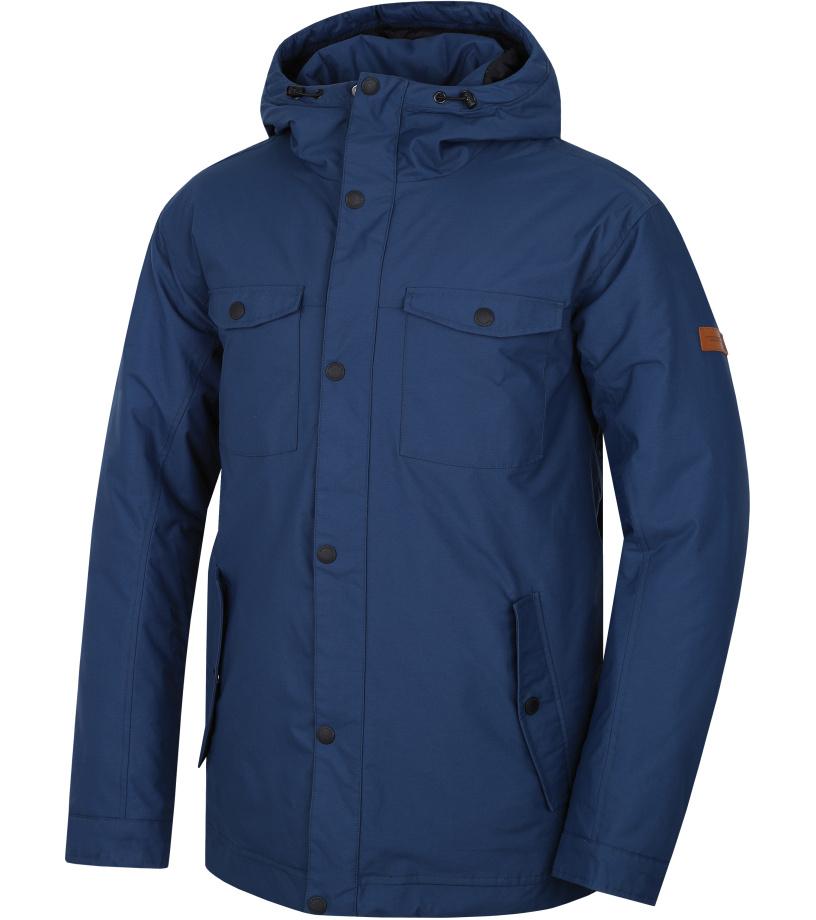 HANNAH Hole Pánská zimní bunda 217HH0032HJ03 Majolica blue