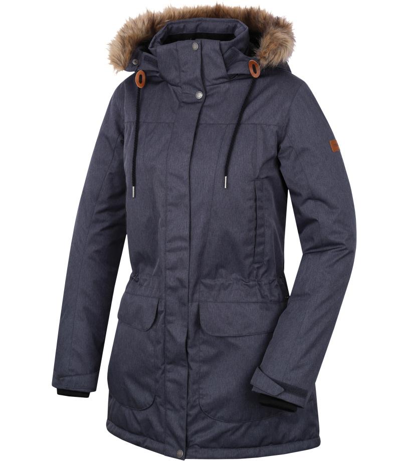 HANNAH Galiano Dámský kabát 217HH0048HJ01 Magnet mel 38