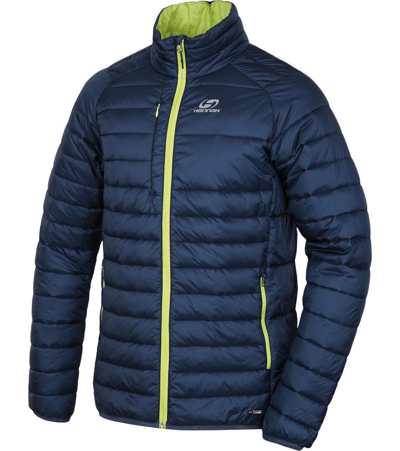 HANNAH Gaton II Pánská zimní bunda 217HH0063HJ02 Majolica blue S