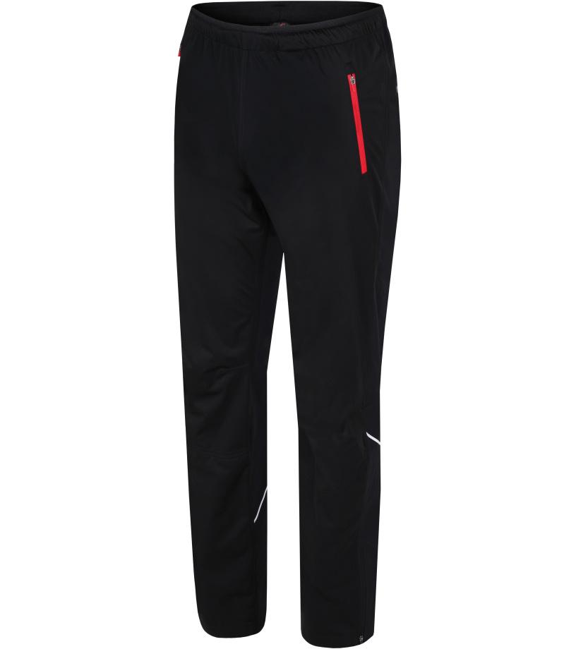 HANNAH Brock Pánské sportovní kalhoty 217HH0070HP01 Anthracite (red)