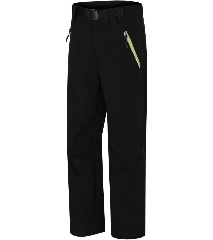 HANNAH Marty JR Dětské softshellové kalhoty 217HH0101SP02 Anthracite (green) 128