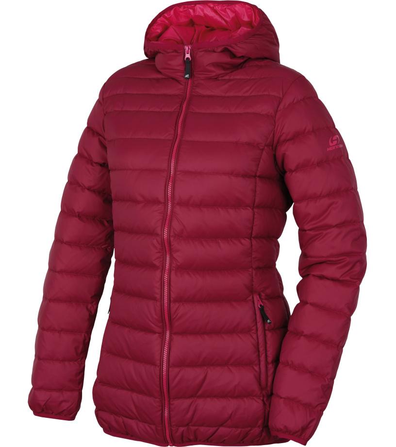 HANNAH Elisabeth Dámský péřový kabát 217HH0157HJ01 Beaujolais