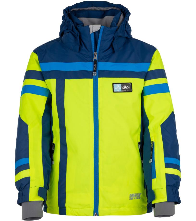 KILPI Chlapecká lyžařská bunda TITAN-JB HJ0002KIYEL Žlutá 158