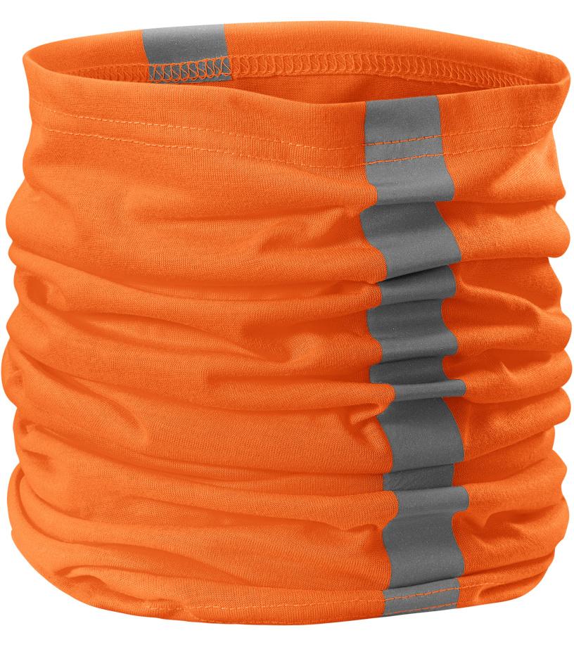 RIMECK HV Twister Šátek 3V898 reflexní oranžová UNI