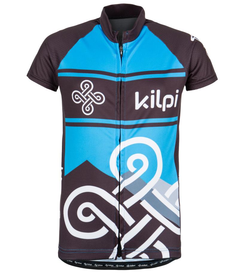 KILPI Dětský cyklistický dres SEPTIMA-K EK0030KIBLU Modrá 134
