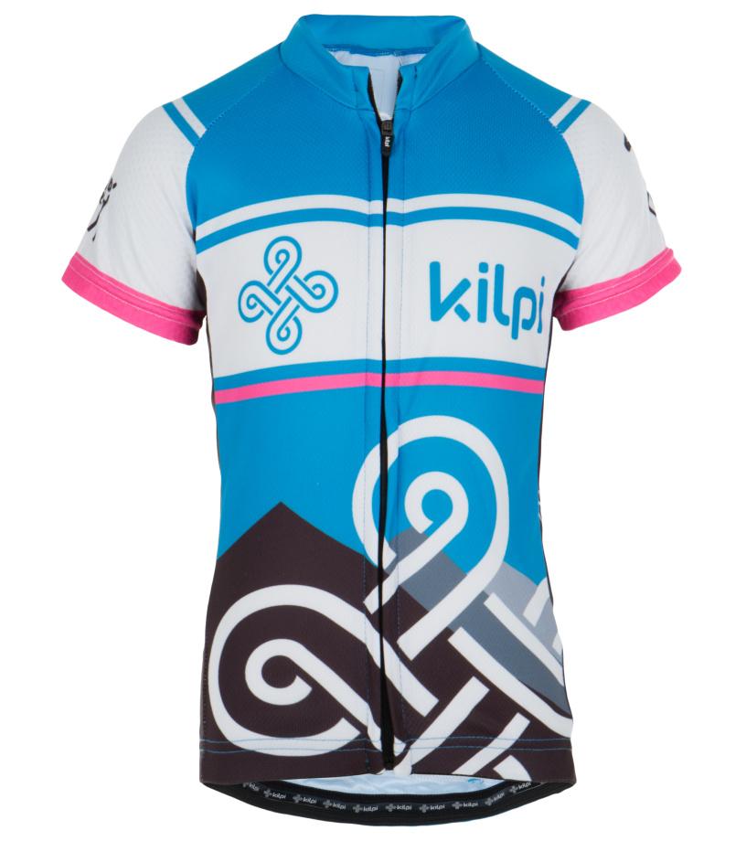 KILPI Dětský cyklistický dres SEPTIMA-K EK0030KIPNK Růžová 122