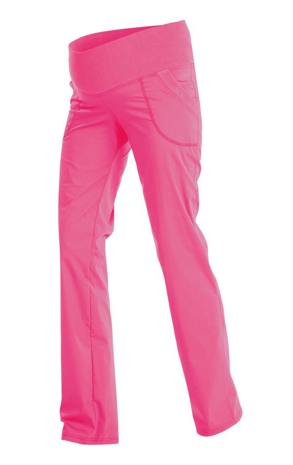 LITEX Kalhoty těhotenské dlouhé 99526311 reflexně růžová