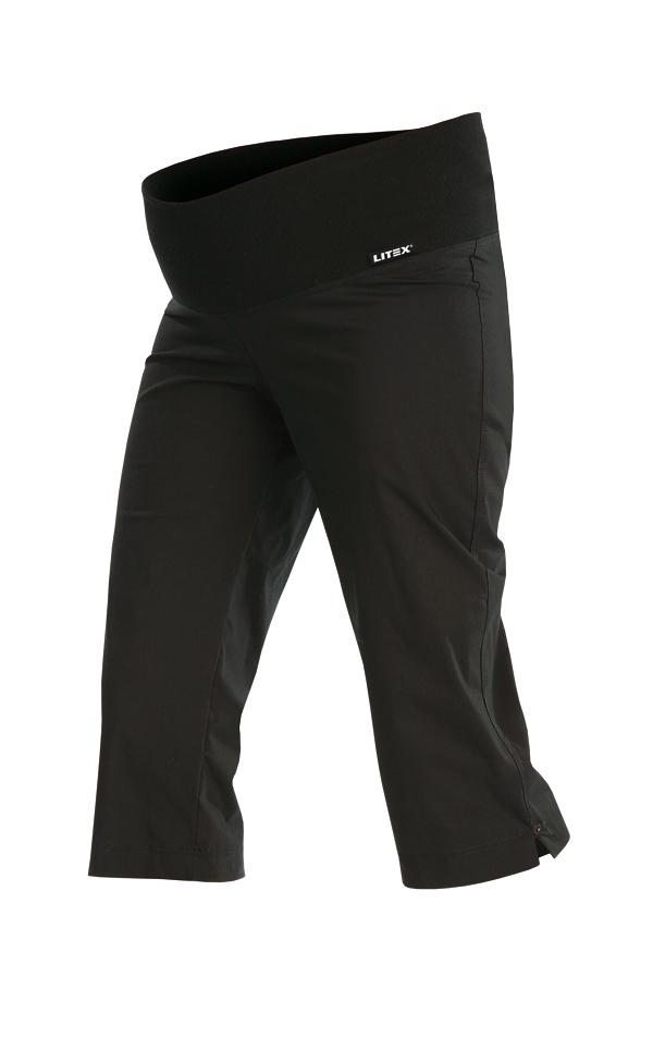 LITEX Kalhoty těhotenské v 3/4 délce. 99527901 černá S