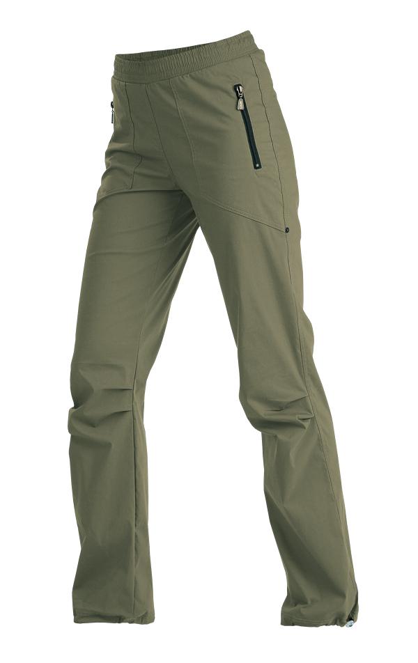 LITEX 99585 Kalhoty dámské dlouhé do pasu khaki S
