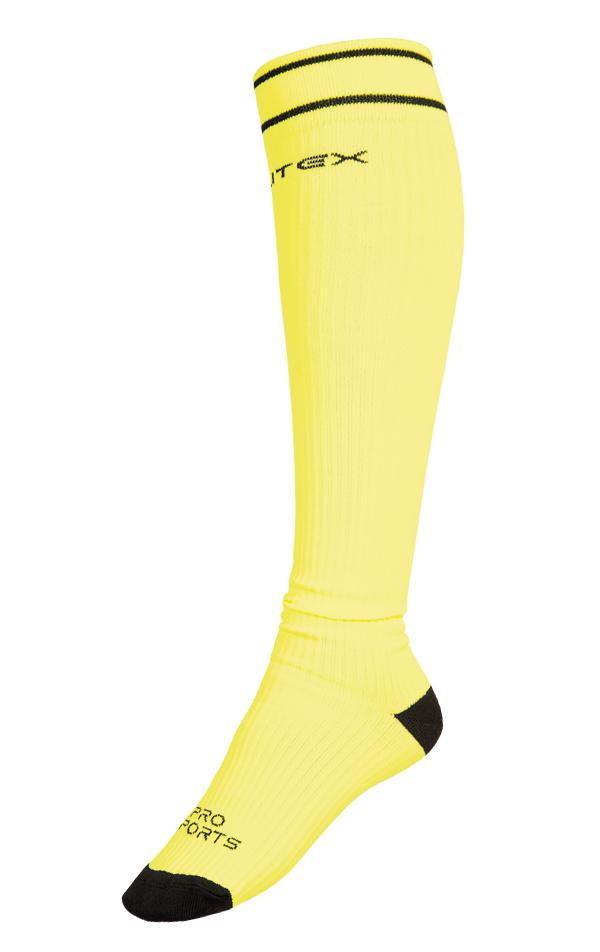 LITEX Sportovní kompresní podkolenky. 99652105 žlutá 30-31