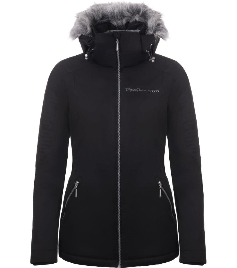 ALPINE PRO MEMKA 3 Dámská zimní bunda LJCM288990 černá L