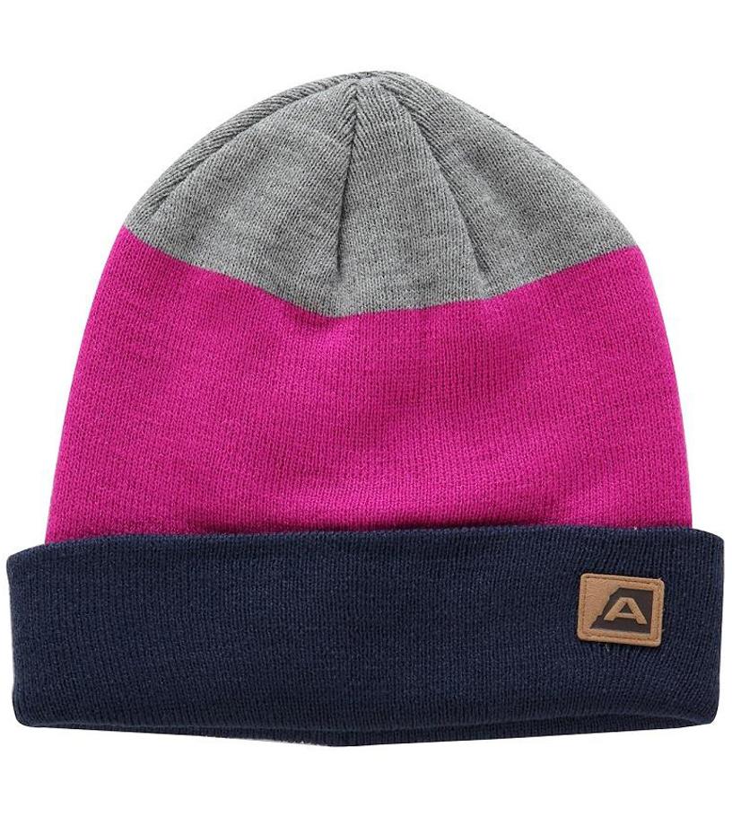 ALPINE PRO ABENE Zimní čepice UHAM050411 fuchsiová