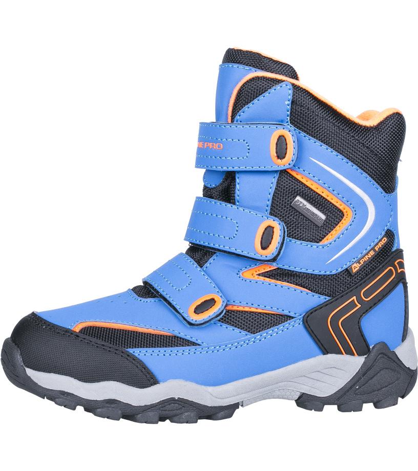 ALPINE PRO DAIRO Dětská zimní obuv KBTH113653 cobalt blue 35