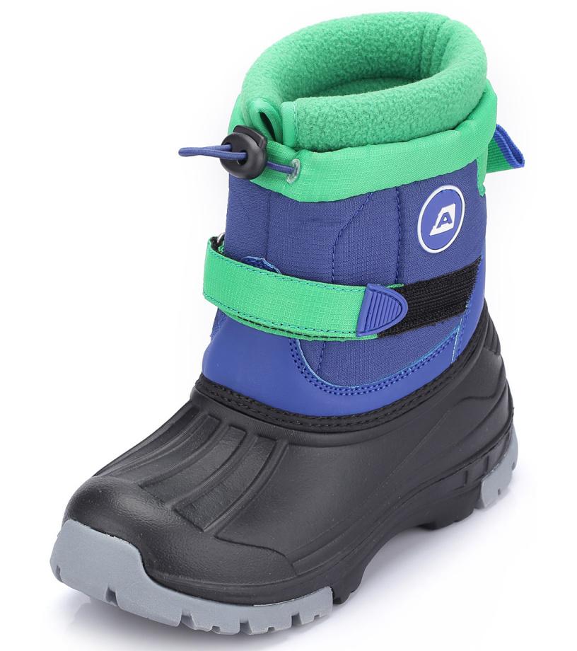 ALPINE PRO PATAM Dětská zimní obuv KBTH132653 cobalt blue 25