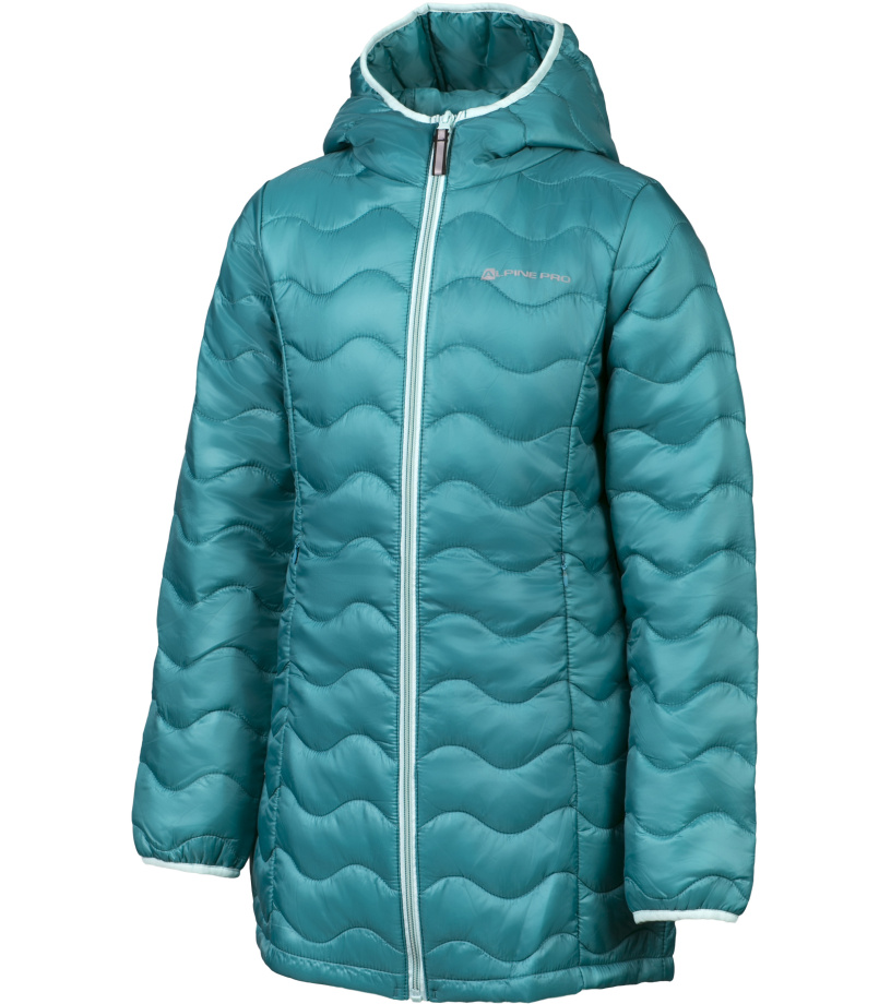 ALPINE PRO ADRIANNO Dětský kabát KCTH001598 navigate 104-110