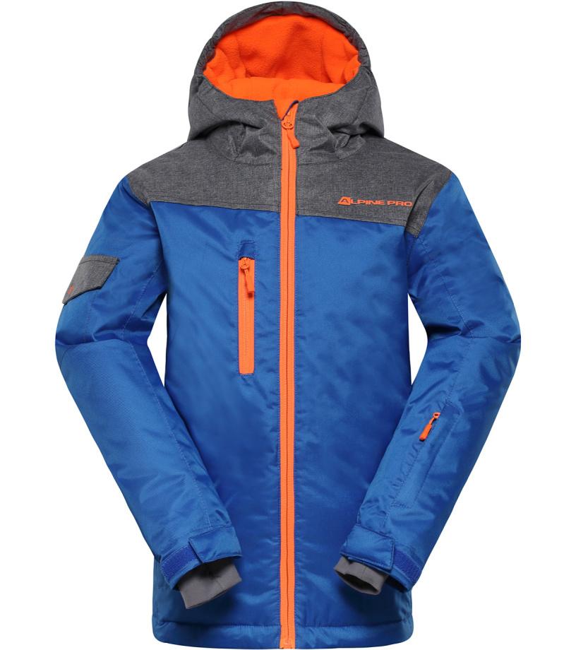 ALPINE PRO CROSSONO Dětská lyžařská bunda KJCH049653 cobalt blue 116-122