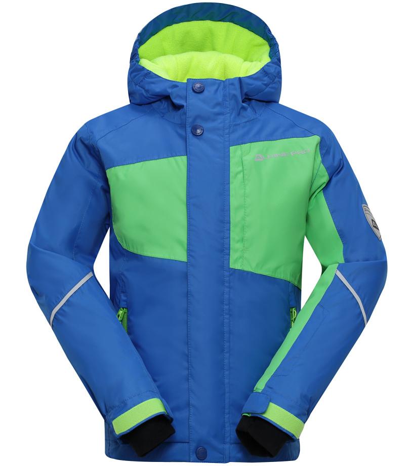 ALPINE PRO BAUDOUINO Dětská lyžařská bunda KJCH051653 cobalt blue 116-122