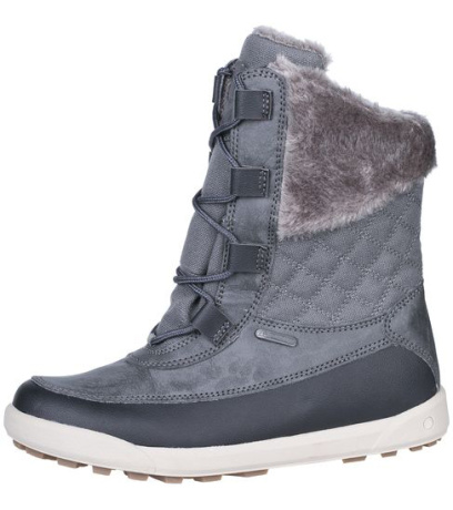 ALPINE PRO SEFIDA Dámská zimní obuv LBTH120779 tmavě šedá